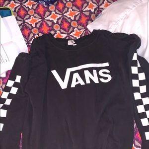 Black vans sweater
